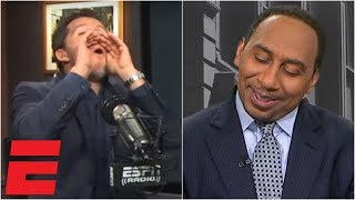 Will Cain can't stop mocking Stephen A. after Cowboys' win vs. Saints   ESPN Voices