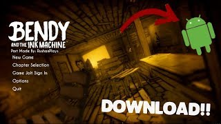 OFICIAL!!BENDY AND THE INK MACHINE ANDROID GAMEPLAY!!(FULL HD 60 FPS)