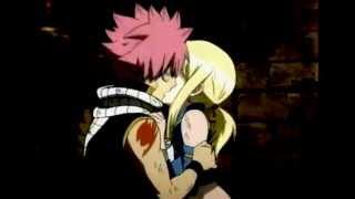 Natsu and Lucy kiss - NaLu [Fairy Tail] FANMADE