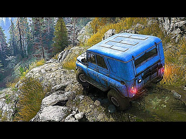 Spintires: MudRunner - 15 Minutes of Gameplay (PS4, XBOX ONE, PC) Developer Demo
