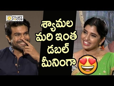 Xxx Mp4 Anchor Shyamala Double Meaning Punch To Ram Charan In Live Interview Filmyfocus Com 3gp Sex
