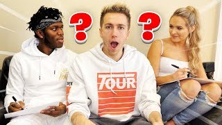 BEST FRIEND VS GIRLFRIEND (KSI Vs Talia)