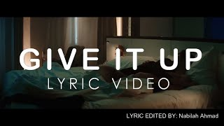 Nathan Sykes - Give It Up (Lyric Video) feat.  G-Eazy