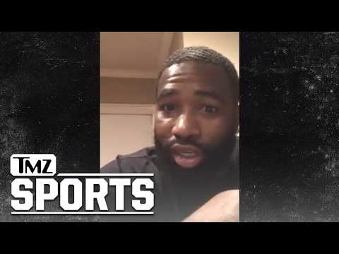 BOXERS ADRIEN BRONER I KNOW WHO SHOT AT ME People Want Me Dead TMZ Sports