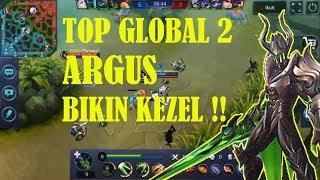 TOP GLOBAL ARGUS MAINNYA BIKIN KEZEL BRO !!! - MOBILE LEGENDS