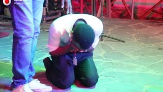 Muhudumu wa Bar aliyeimba mbele ya Waziri, hajaamini kilichotokea