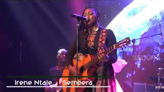 IRENE NTALE's Georgeous live Performance of Sembera Song