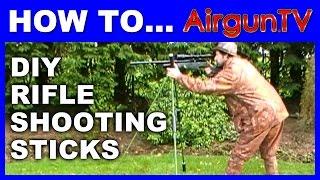 HOW TO make a set of SHOOTING STICKS