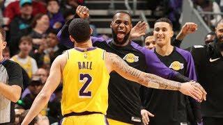 LeBron, Lonzo Ball Both Get Triple Doubles! 2018-19 NBA Season