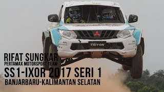 Rifat VS H Sam di IXOR 2017 Seri 1 SS1 Banjarbaru Kalimatan Selatan
