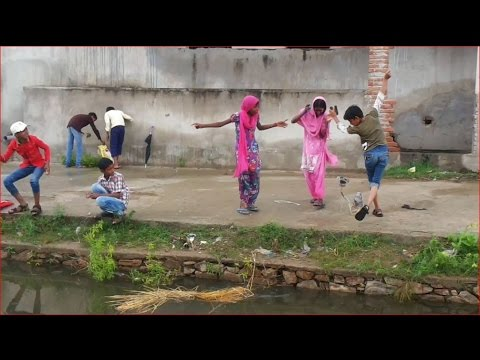 Indian Village Children Catching Fish - Unique Technique