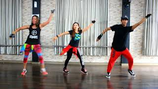 Zumba AlEXIS Y FIDO ERES UNA EN UN MILLON LETRA Choreo By Dwiky | Ft Chenci and Lola (BFS) Sangatta
