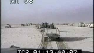 Desert Storm 4 - War Footage - Soldiers - Airplanes - Tanks - Best Shot Footage - Stock Footage