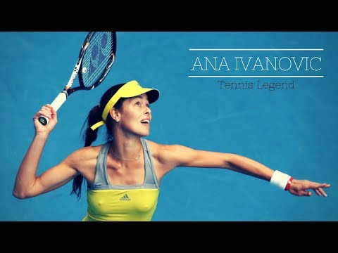 Tennis Legend ANA IVANOVIC Funny and Sexy Moments