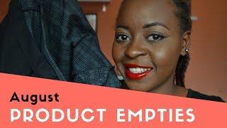 August Product Empties | OmogeMuRa
