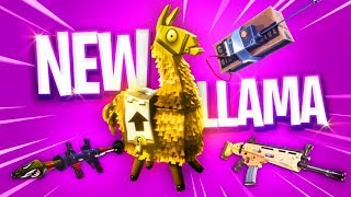 BETTER THAN CHEST! *NEW LLAMAS* - Fortnite: Battle Royale