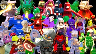 Lego Marvels Avengers Ultimate Character Unlock Guide
