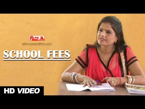 Rajasthani Comedy | School Fees | Comedy 2017 | Alfa Music & Films | Marwadi Comedy Show