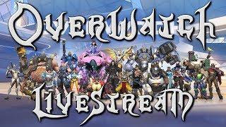 RoxasXIIIkeys plays: Overwatch - RETURNING LIVESTREAM