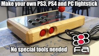 Make your own PS4 fighstick the easy way!!