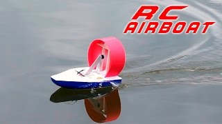 DIY RC Airboat - How to Make a  Racing Boat