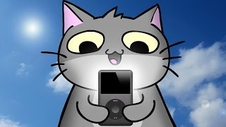 Cat F*cking Loves iPods - AM64