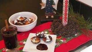 Æbleskiver How to make aebleskiver. A homemade Danish Christmas dessert recipe. Ableskive pan