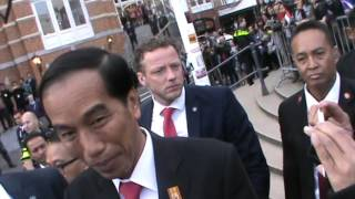 Presiden Jokowi di Belanda 21.04.16