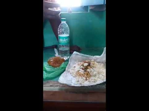 Plastic rice used at a hotel in Bangarpet Karnataka