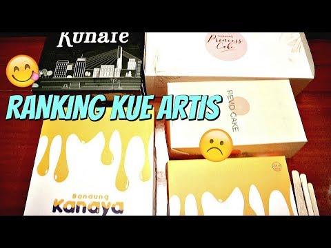 Ranking KUE ARTIS di Bandung dari ENAK BANGET sampai Ft. Anak Kuliner