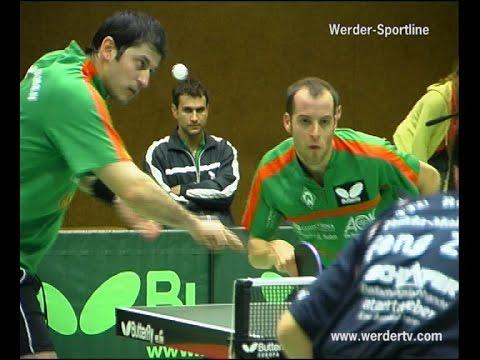Mit Waldner/Persson: Werder Bremen - Fulda Marberzell *Topspin Hünniger 2007