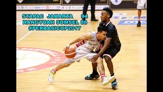 Game Highlights: STAPAC Jakarta vs Hangtuah Sumsel (PERBASI CUP 2017)