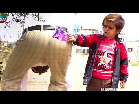 गैम्बलर छोटू का गेम | GAMBLER CHOTU KA GAME | Khandesh Hindi Comedy Video | Chotu Comedy