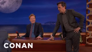 Ed Helms Cross-Examines Conan As An Old-Timey Southern Lawyer  - CONAN on TBS