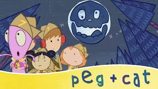 Peg + Cat 🎃 A Spooky Problem For Halloween!