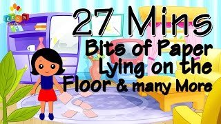 Bits Of Paper Lying On The Floor & More || Top 20 Most Popular Nursery Rhymes Collection