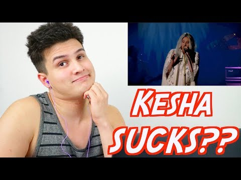Xxx Mp4 Vocal Coach Reacts KESHA SUCKS Kesha Sings Praying Reaction Live Performance YouTube 3gp Sex