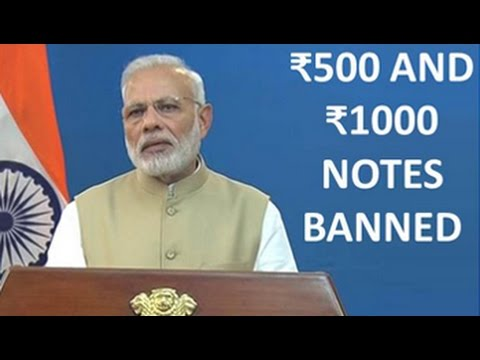 watch Watch PM Modi's Full Speech On Discontinuing Rs 500, 1000 Notes