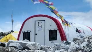 The Everest Base Camp Medical Clinic (Everest ER) in 4K!