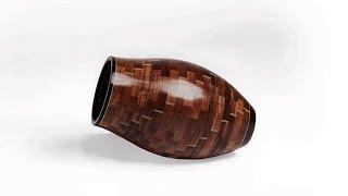 Woodturning A Segmented Vase