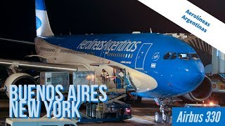 AR1300 Buenos Aires New York - Aerolíneas Argentinas