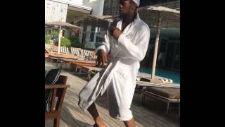"Patoranking dancing ""Hale Hale"" in maimi South Florida."