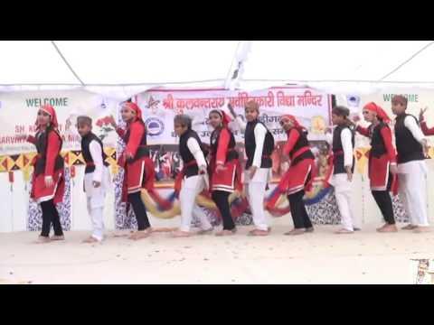 Himachali Nati Dance Performed by School Kids in Chandigarh School Annual Function