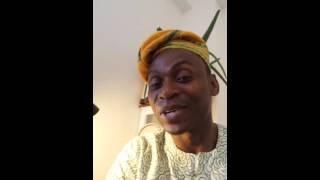 """ORIN IBEJI "" song for twins children  ;Adeyinka Akinwande"