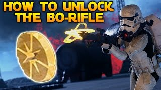 HOW TO UNLOCK THE BO-RIFLE - Frequently Asked Questions - Star Wars Battlefront