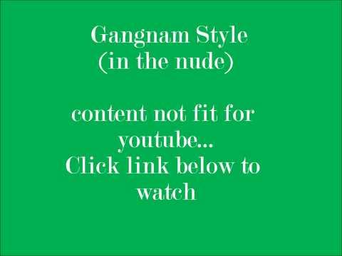 psy,,,Gangnam Style Dance(naked)..  벌거벗은 채 춤 강남 스타일
