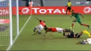 ملخص مباراة مصر والمغرب 1-0 - كاس افريقيا 2017