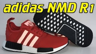 Adidas NMD R1 (Clear Red) - Review + On Feet