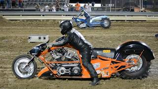 Galot Top Fuel Motorcycle Dirt Drags '2018