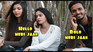 Epic - Call Clash Prank on Girls - Prank In India | {BRbhai}